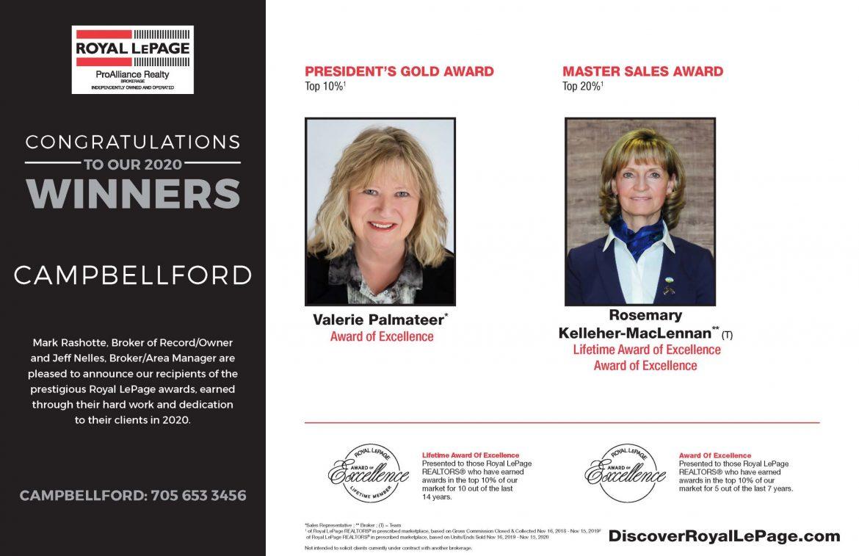 Campbellford Award Winners