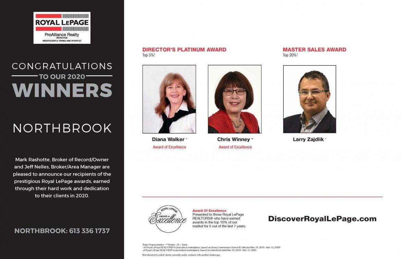 Northbrook Award Winners
