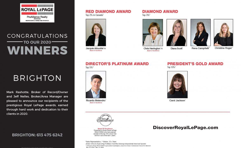 Brighton Award Winners