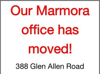 Marmora Moved